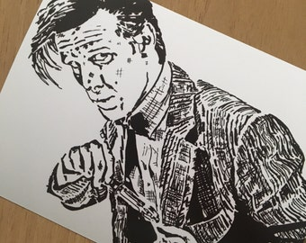 Doctor Who. Matt Smith Photographic Print. 15x11cm