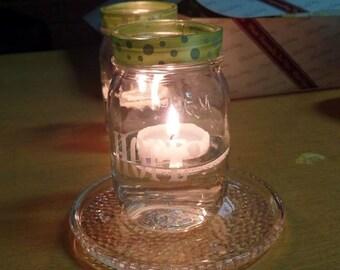 Hope Mason Jar Candle Holders