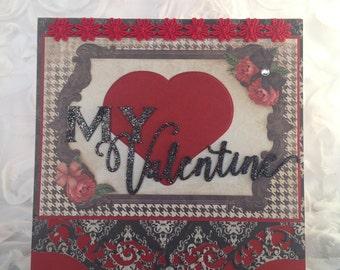 Love Story Valentine Card