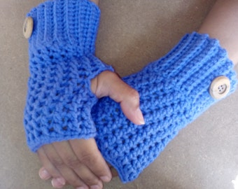 Fingerless mittens,Crochet Wrist warmers,Crochet fingerless glove,Women fingerless mittens,Mitts,girl gloves,woman glove,fingerless mittens