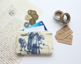 Mini Pouch, Coin Purse, Card Pouch, Colourful Pouch, Zipper Pouch, Cotton Pouch