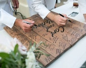 """Personalized Guest Signing Board - 24""""x24"""""""