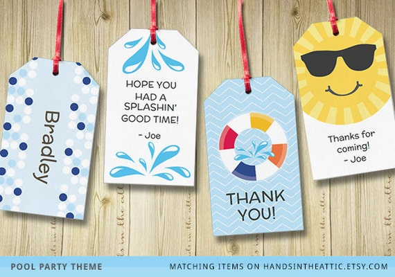 Editable gift tags gift tag template favor tags by for Goodie bag tag template