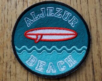 Aljezur beach - Patch (écusson à coudre)