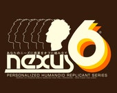 Nexus 6 (Blade Runner) Retro Logo T-Shirt.