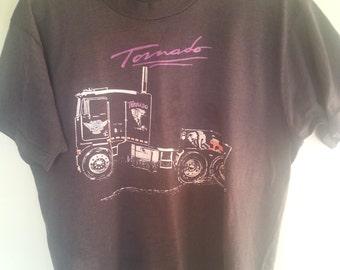 Vintage distress shirt, vintage distress t shirt, vintage distress black t shirt , 1980's vintage t shirt. A5