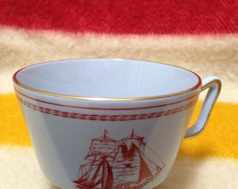 Vintage Spode Cup Trade Winds 1960
