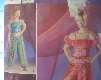 Pattern SIMPLICITY 3626 belly dancer