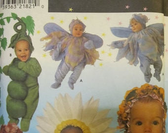 Pattern SIMPLICITY 8273 size baby HALLOWEEN