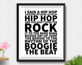 Rap Quotes Etsy