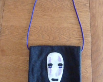 No Face/Spirited Away (Studio Ghibli) handmade shoulder bag