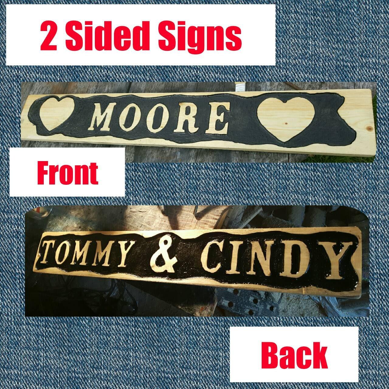 Custom Home Decor Signs: Custom Wood Signs / Home Decor / Man Cave / Wedding Signs