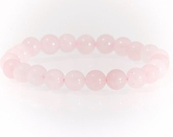 Rose Quartz 8mm bracelet