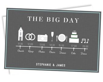 Wedding Timeline (The Big Day)