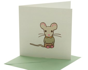 Mouse Blank Card