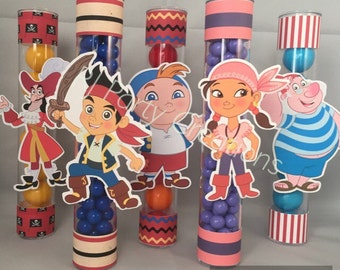 12 Jake And The Neverland Candy Tubes