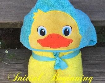 Hooded Duck Towel