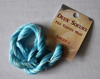 Siberica hand dyed yarn