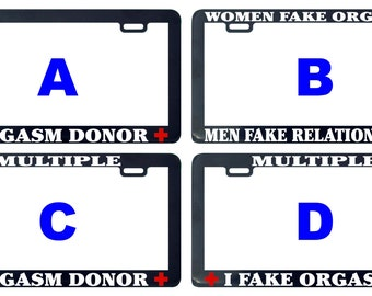 License Plate Donor Etsy