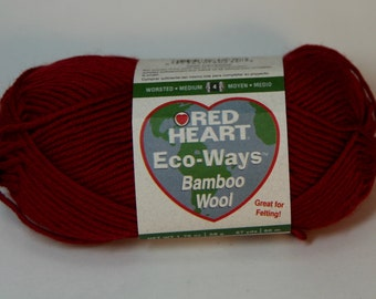 Red Heart Eco-Way Bamboo-Wool - Cayenne