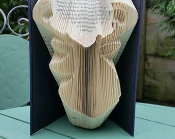 Stag's Head Book Folding Pattern, 193f