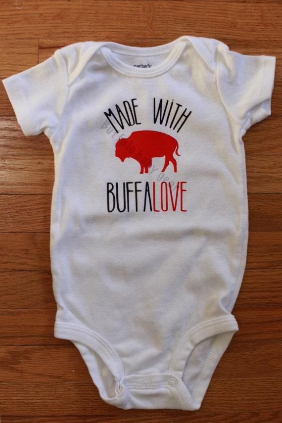 Made with Buffalove Buffalo baby by buffalobabygear on Etsy