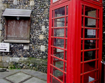 Quintessential England - A Telephone Booth in Canterbury
