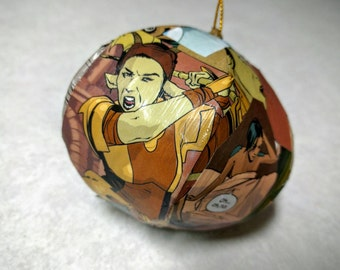 Saga Comic Christmas Ornament /Saga Gifts / Geek Gifts / Geek Favors