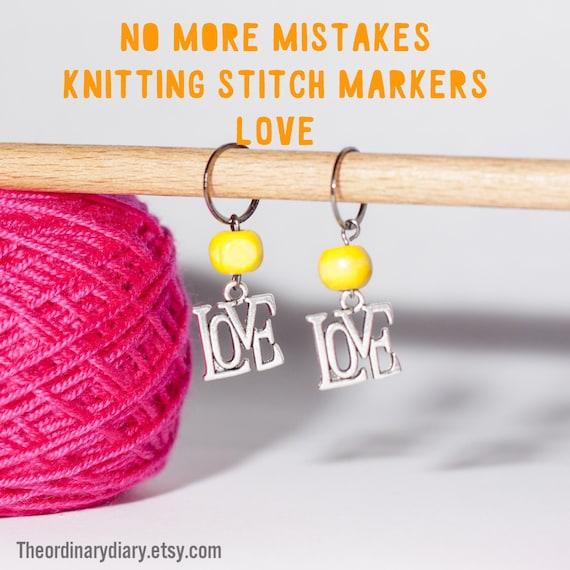 Best Knitting Stitch Markers : Knitting stitch markers handmade knitting supplies tools