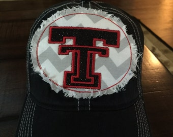 Texas Tech Bling Patch Hat