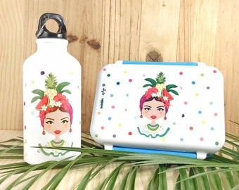Lunch box and bottle - Carmen Miranda