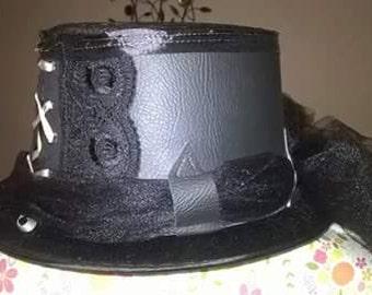 Steampunk/Gothic Hat