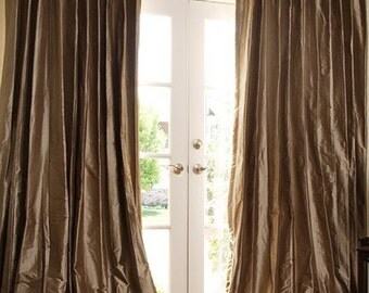 Drapes, Silk Pleated