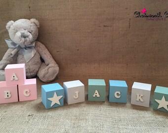 Wooden Nursery Blocks