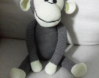 Ernesto, the monkey amigurumi gifts