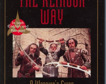 Star Trek The Klingon Way A Warrior's Guide Audio Cassette with Worf and B'Elanna Torres