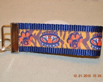 Auburn Tigers Keychain Fob