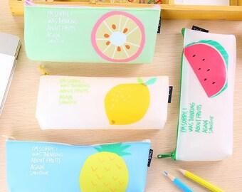 Summer Special - Simple Fruit Pencil Case
