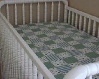 Patchwork Crib Sheet