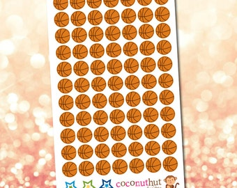 Basketball / Sports Planner Stickers