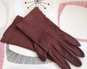 Vintage Milore Leather Gloves