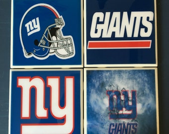 New York Giants coaster set