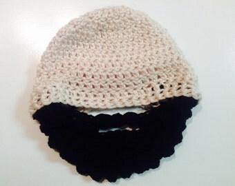 Baby Beard Hat---- Now convertible!