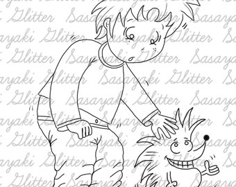 Billy and Spike Digital Samp Sasayaki Glitter