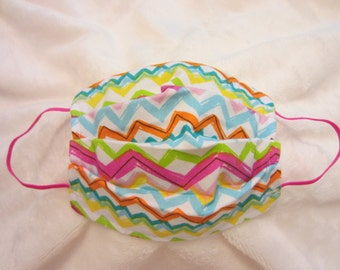 Adult Mask-Chevron Wired