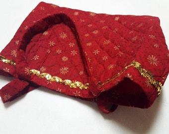 Christmas Tote Bag, Holiday Tote Bag,