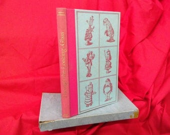 Lewis Carol - Through The Looking Glass. 1962 folio society edition. Alice in Wonderland. Illustrated by John Tenniel