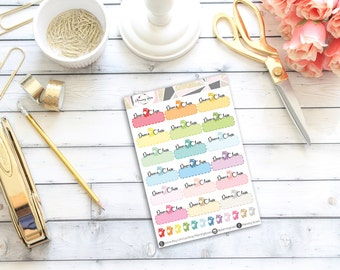 Dance Class Stickers || 30 Planner Stickers