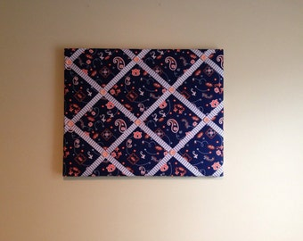 "Auburn University French Bulletin Board- 16"" x 20"""