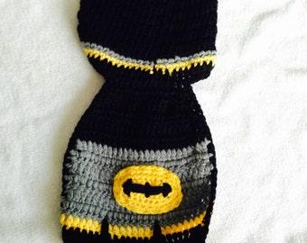 Handmade Batman baby photo prop